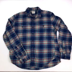 Slim Fit Flannel shirt XL blue, green, red plaid